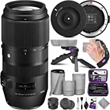 Sigma 100-400mm f/5-6.3 DG OS HSM Contemporary Lens for Nikon F + Sigma USB Dock with Altura Photo Essential Accessory Bundle