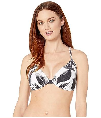 Body Glove Black White Solo Underwire Bikini Top D-DD-E-F Cup (Black) Women