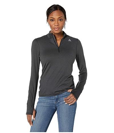 Reebok 1/4 Zip (Black) Women