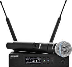 Shure QLXD24/B58 Handheld Wireless System with BETA 58A Vocal Microphone, G50