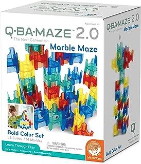 Q-BA-MAZE 2.0 Bold Colors 50 piece set