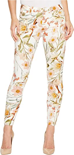The Ankle Skinny Jeans in Tropical Print
