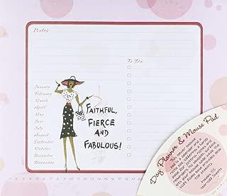 Shades of Color Memo Mouse Pad, Faithful, Fierce and Fabulous (MP07)