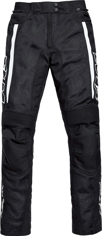 Flm Motorradhose Sports Damen Textil Hose 1 1 Schwarz Xxl Sportler Ganzjährig Bekleidung