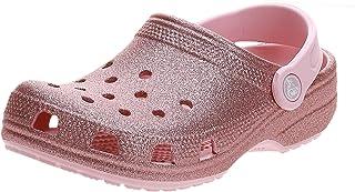 Crocs Classic Glitter Clog K, Sabots Mixte Enfant