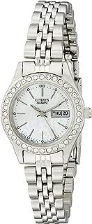 Citizen Women's Quartz Watch with Crystal Accents, EQ0530-51D