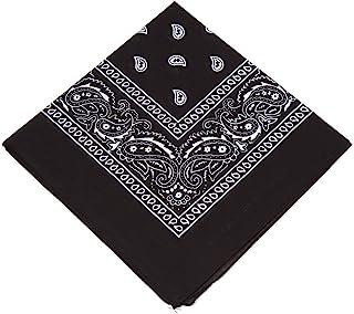 Boolavard 100% Cotone, 1, 6 o 12 Confezioni Bandane con Motivo Paisley Originale   Scelta di Colore Headwear Sciarpa/Capel...