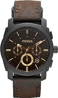 Men's Machine Stainless Steel Chronograph Quartz Watch