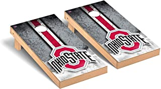 Victory Tailgate Regulation Collegiate NCAA Vintage Series Cornhole Board Set - 2 Boards, 8 Bags - 600+ Teams Available