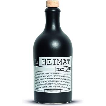 Heimat Dry Gin 43 1x 0 5l Mit 18 Fruchtigen Botanicals Wie Apfel Salbei Thymian Lavendel Ingwer Aus Der Heimat Handcrafted Amazon De Bier Wein Spirituosen
