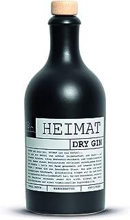 HEIMAT Dry Gin 43% 1x 0,5l mit 18 fruchtigen Botanicals wie Apfel, Salbei, Thymian, Lavendel, Ingwer aus der Heimat - Handcrafted