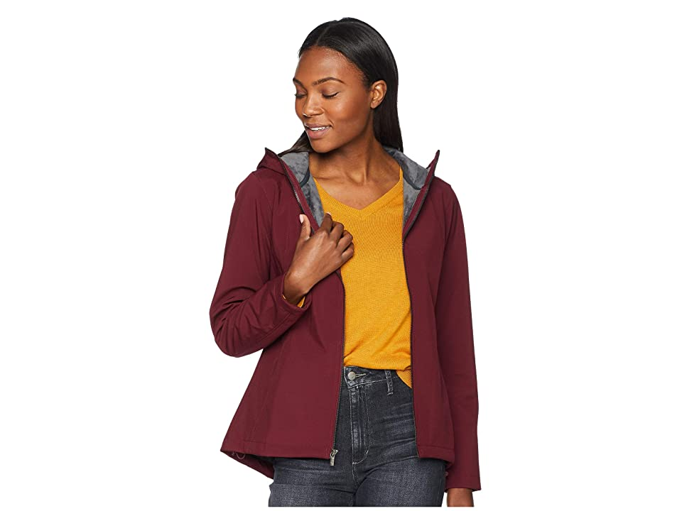 Columbia Kruser Ridgetm Plush Soft Shell Jacket (Rich Wine) Women