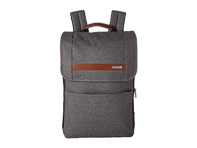 Briggs & Riley Kinzie Street Slim Expandable Backpack (Grey) Backpack Bags