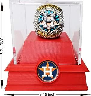 2017 Houston Astro's World Series Replica Championship Ring Collectible Replica Plastic Box(Size 9-12)