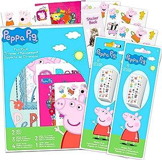 Peppa Pig Party Favors Sticker Set -- Bundle Includes 40 Sheets of Peppa Pig Stickers, Over 800 Stickers Total, with Bonus...