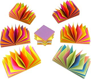 4A Magic Cyclic Pop-up Sticky Notes,4 Neon Color Assorted, Each Color Sheets Cyclic,Self-Stick Notes,3 x 3 Inches,100 Sheets/Pad,12 Pads/Box,4A 303M-PN-Zx12, More Easy&Efficient!