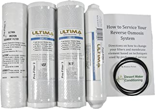 ultima water system model vii replacement filters