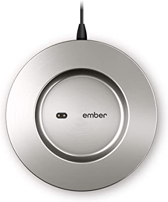 NEW Ember Temperature Control Smart Mug 2 Charging Coaster, Stainless Steel - Improved Design