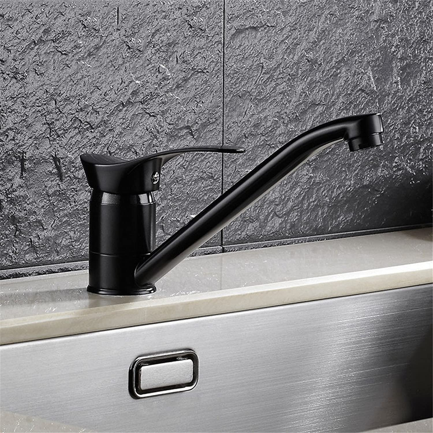Hlluya Professional Sink Mixer Tap Kitchen Faucet Antique kitchen faucet, full copper cold water to wash dishes basin mixer