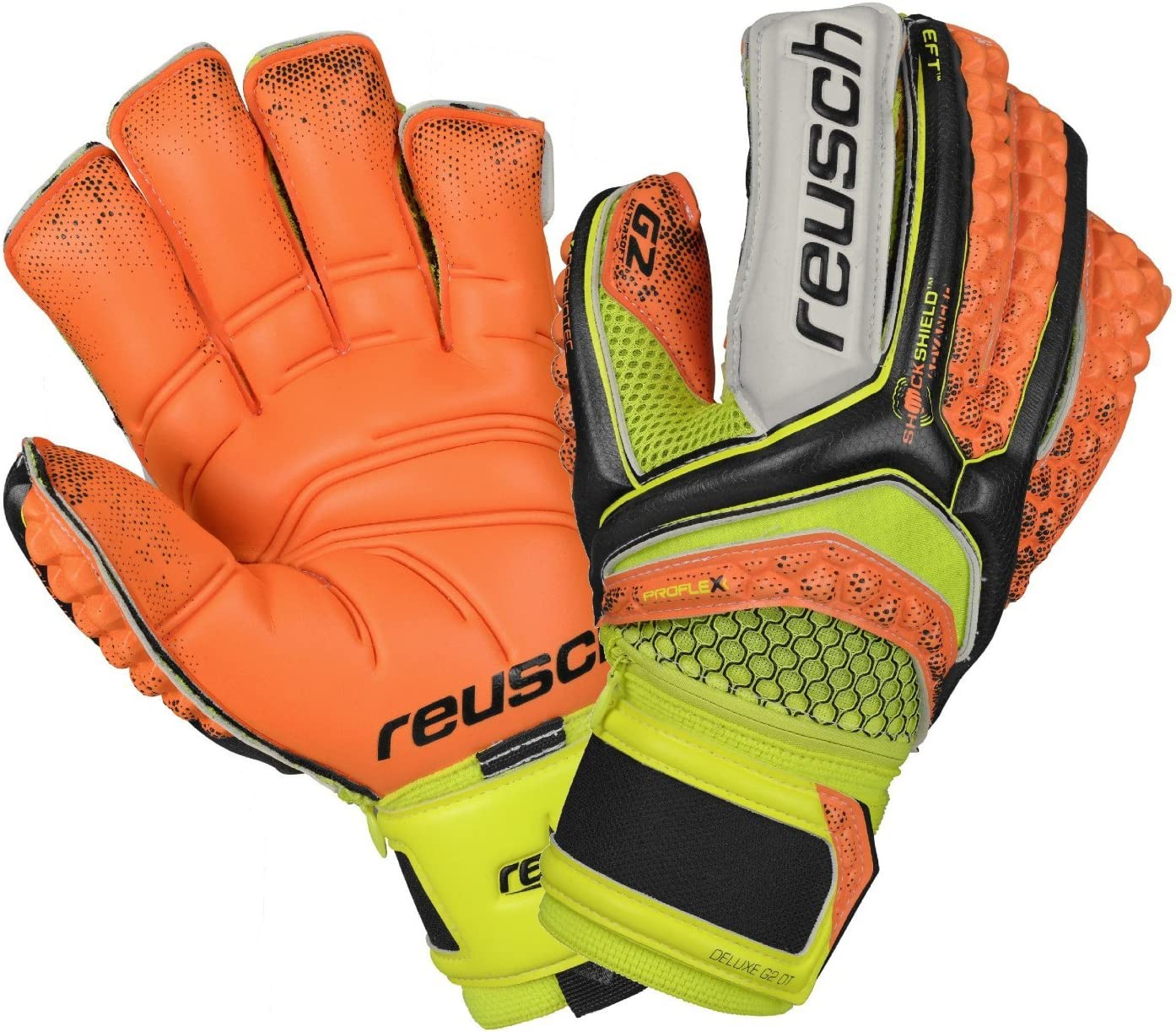 Reusch Soccer Ranking TOP4 Pulse Deluxe Ortho-Tec Gloves G2 Goalkeeper Our shop most popular