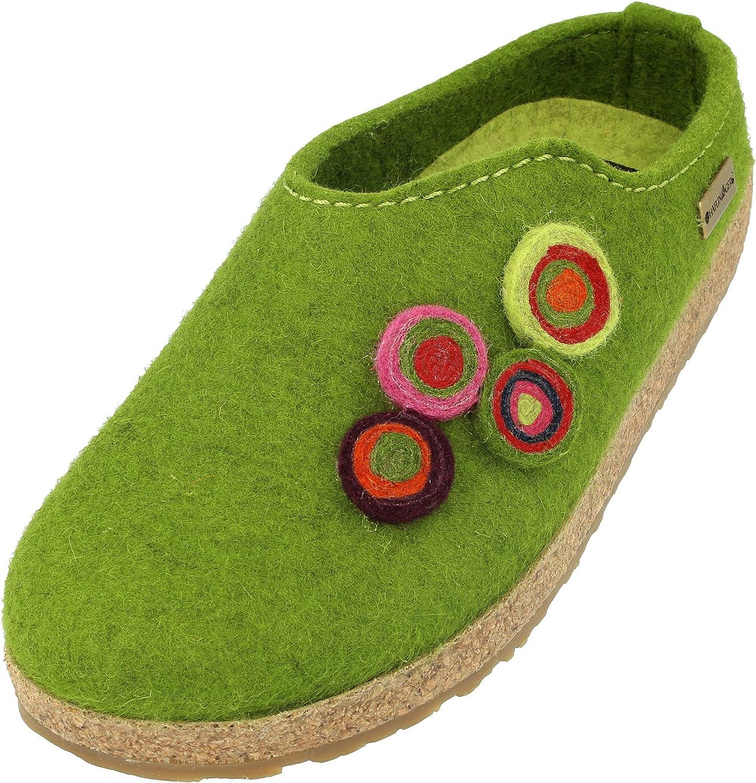 Finally resale start Max 51% OFF HAFLINGER Women's Low-Top Slippers Green Womens 10 36 Grasgrün