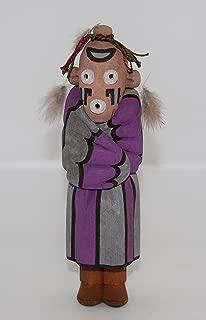 Hopi Toson Koyemsi Fancy Mudhead Kachina by Herb Talahaftewa