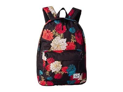 Herschel Supply Co. Classic (Vintage Floral Black) Backpack Bags