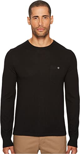 Todd Snyder - Long Sleeve Cashmere T-Shirt Sweater