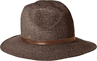 Women's One Size Tweed Braid Fedora Hat