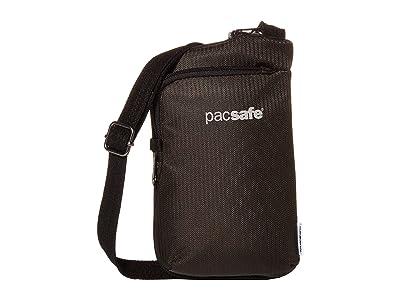 Pacsafe Daysafe Econyl Tech Crossbody (Econyl(r) Bedrock) Handbags