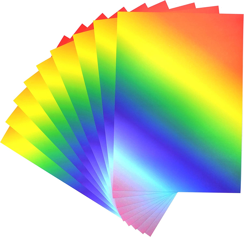 Daler Rowney CI 50 付与 Sheets 人気ブランド多数対象 of Rainbow Vibrant A4 Card Printed
