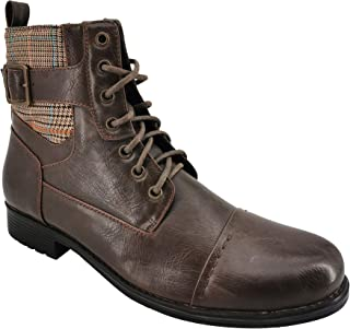Men's Fashion Combat Boots for Work or Casual