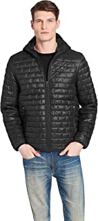 Men's Sweaterweight Ultra Loft Hooded Packable Puffer Jacket