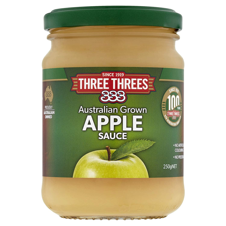 Three Threes Apple Sauce Special sale item 250gm Brand Cheap Sale Venue