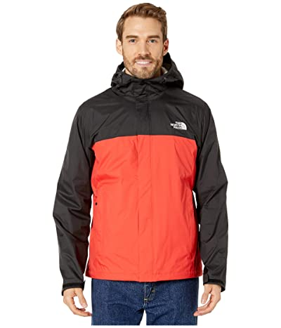 The North Face Venture 2 Jacket (Fiery Red/TNF Black) Men