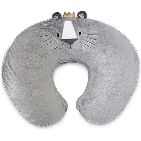 Boppy Luxe Nursing Pillow & Positioner, Gray Royal Lion