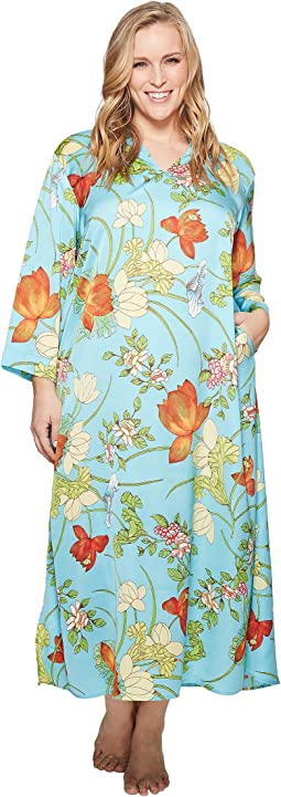N by Natori - Plus Size Aquarelle Caftan