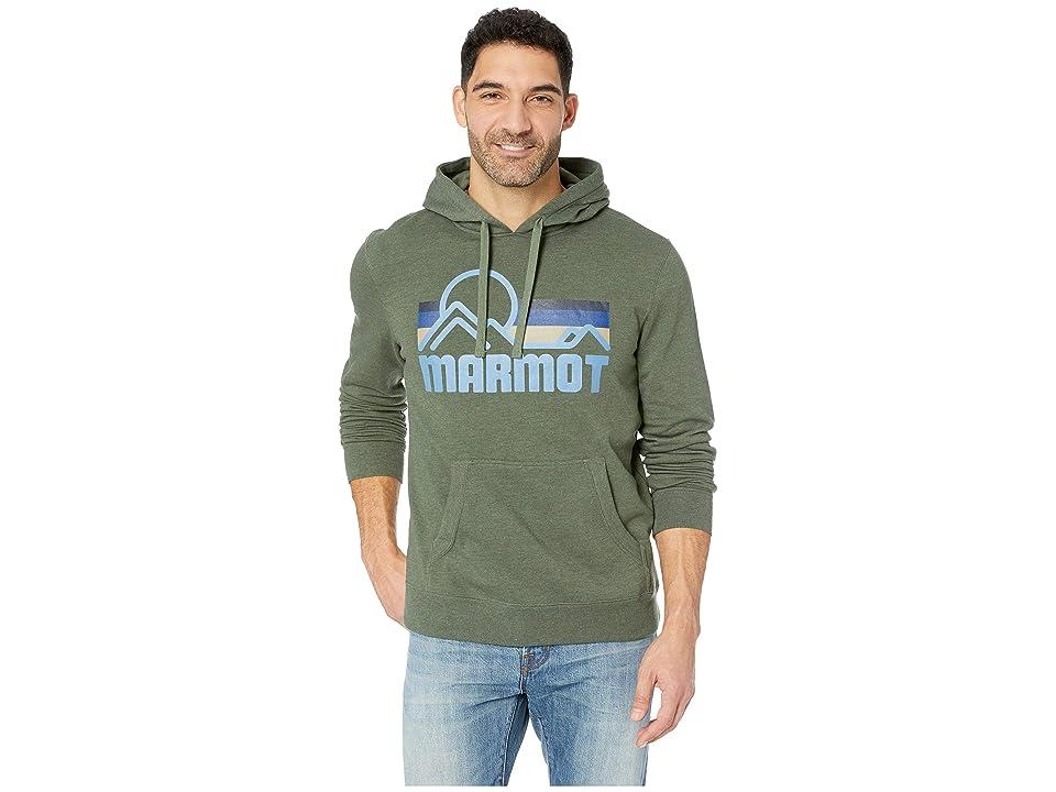 Marmot Coastal Hoodie (Crocodile Heather) Men