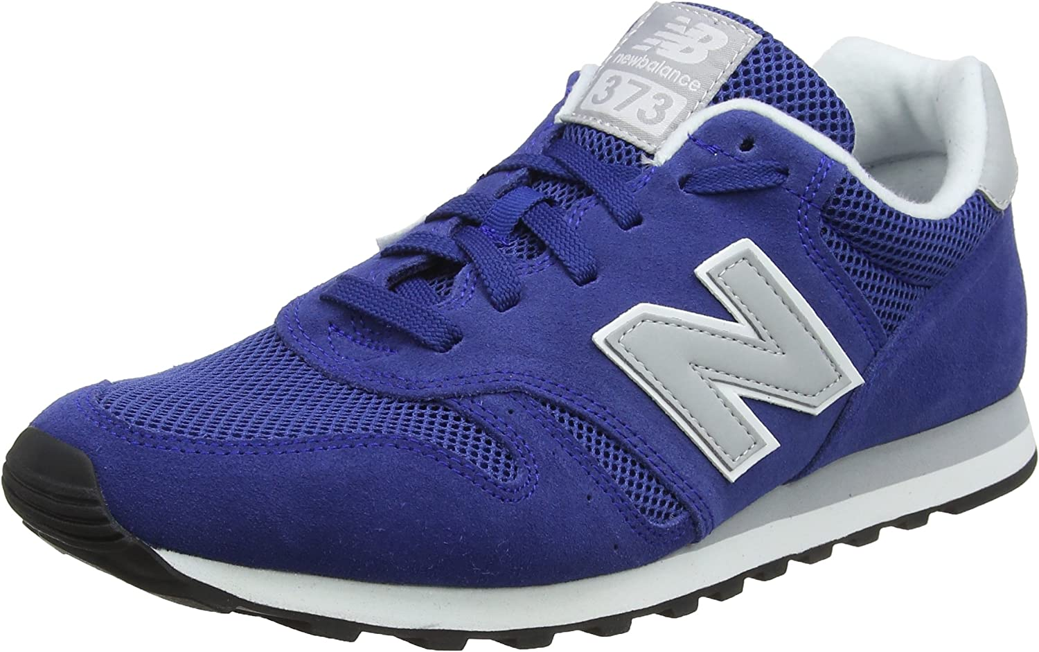New Balance Men's 373 Suede Trainers, bluee