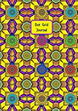 Dot Grid Journal: Yellow Brick Grid - 7x10 dotted grid notebook with 175 dot grid pages on white paper. Ideal for Journaling, Diaries, Drawing and much more