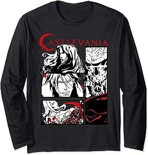 Castlevania Black & White Comic Panels Manche Longue