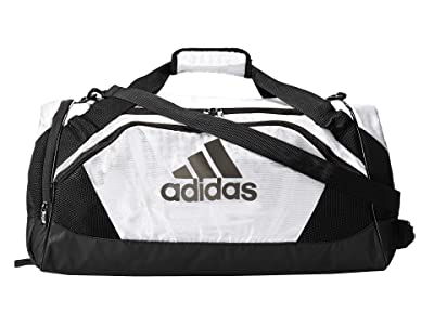 adidas Team Issue II Medium Duffel (White) Duffel Bags
