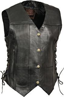milwaukee women's leather vest