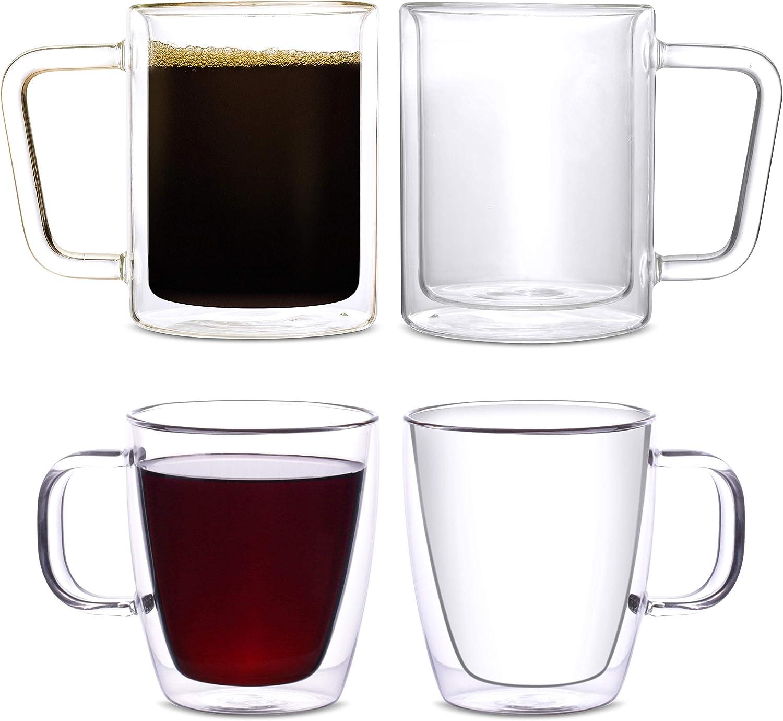 Eparé Bundle: Cash special price 12oz Coffee Mugs of Set Long Beach Mall 16oz Retro 2