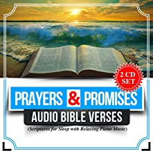 Prayers and Promises: Audio Bible Verses Scriptures with Relaxing Piano Music