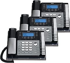 RCA 25425RE1 na 1-Handset 4-Line Landline Telephone - 3 Pack