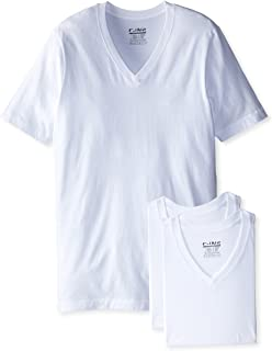 C-IN2 Men's 3-Pack High V-Neck T-Shirt