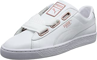 basket puma femme heart blanche