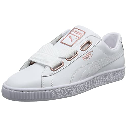 fc1951b836c Puma Women s Basket Heart Leather WN s Low-Top Sneakers