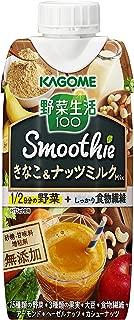 カゴメ 野菜生活100 Smoothie きなこ&ナッツミルクMix 330ml ×12本